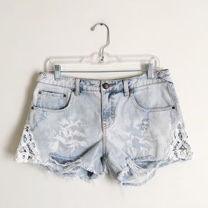 Free People | Distressed Cutoff Jean Shorts